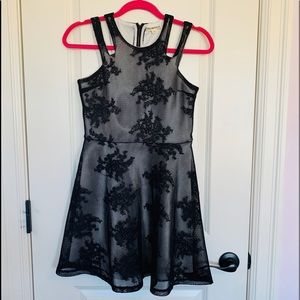 Other - Miss Behave Girls Lace Skater Dress